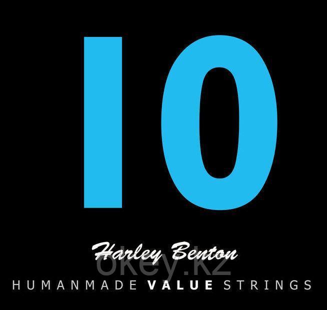 Harley Benton: Струны для электрогитары Valuestrings 010-046 (никель)