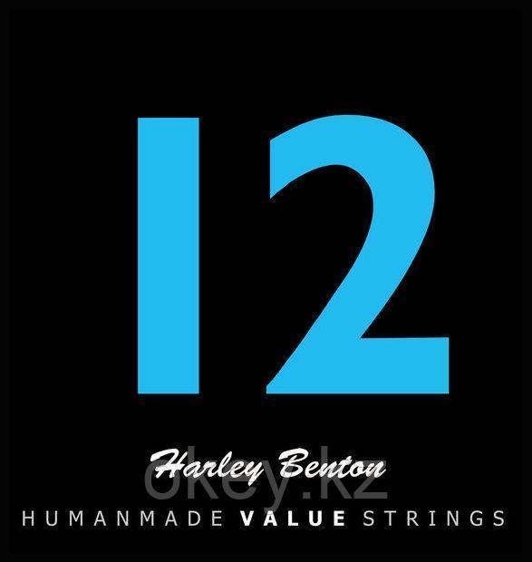 Harley Benton: Струны для гитары Valuestrings 012-053 (Бронза)