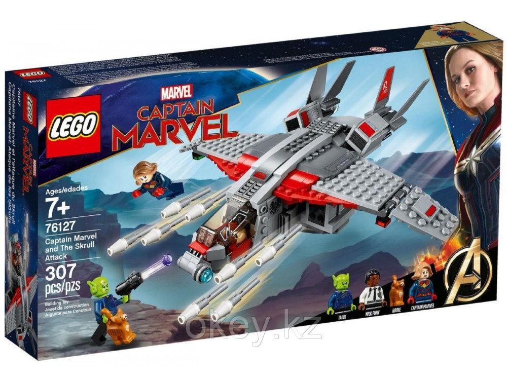 LEGO Super Heroes: Капитан Марвел и атака скруллов 76127