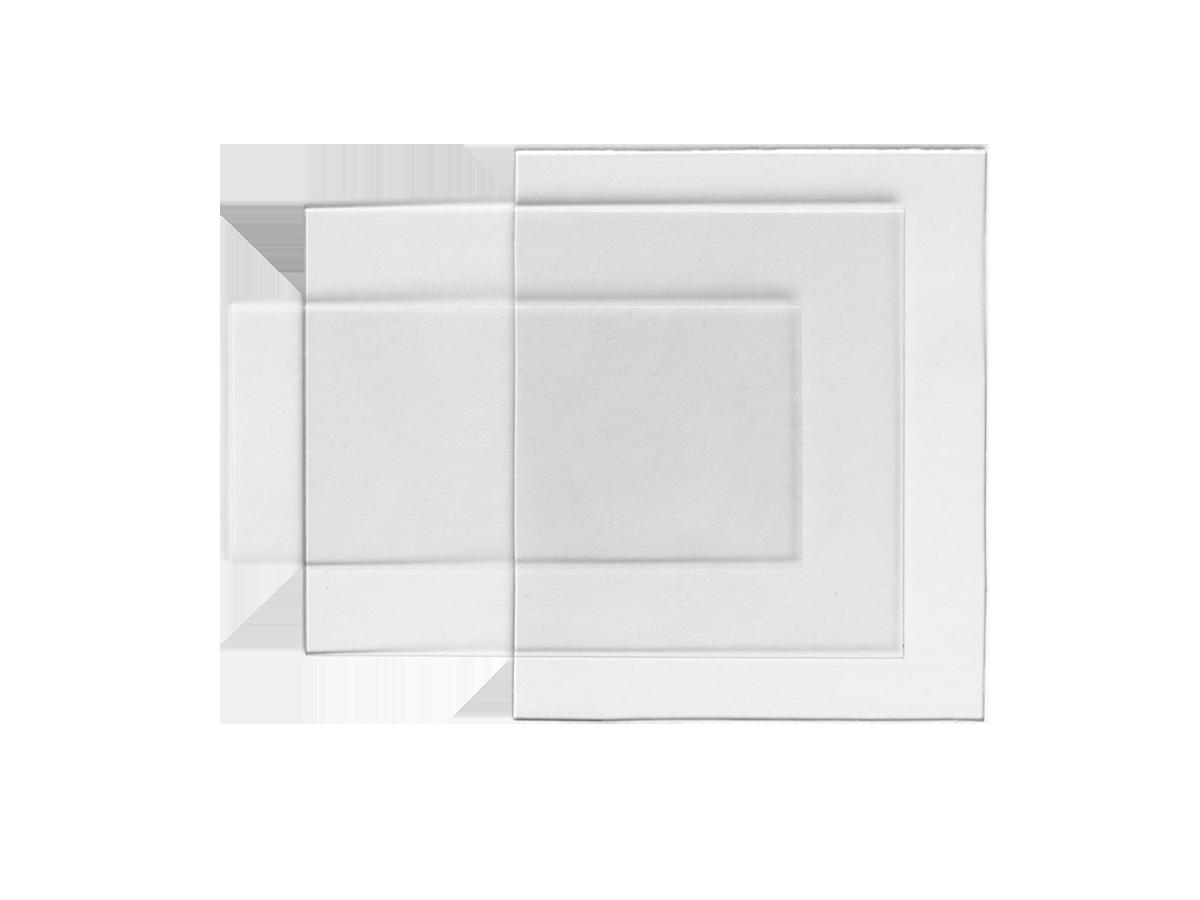 Внешняя защитная пластина 133×114 мм