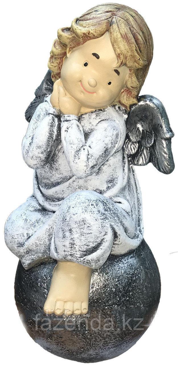 Ангел на шаре большой h-56см