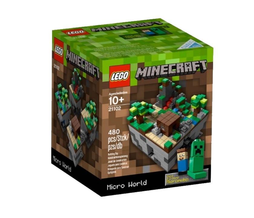21102 Lego MineCraft микро мир: Лес