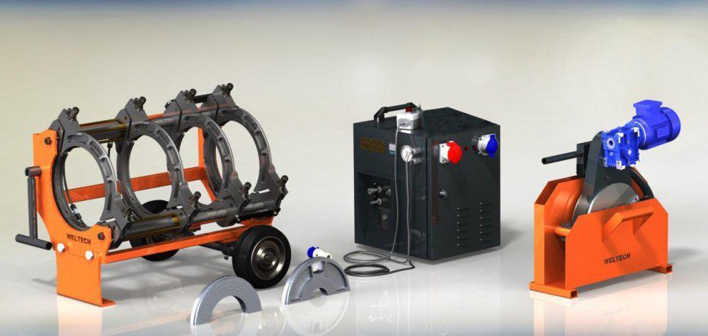 Оборудование для сварки пластиковых труб  W630 с протоколированием WELTECH