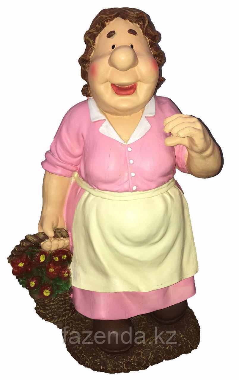 Бабка садовница Н-65см