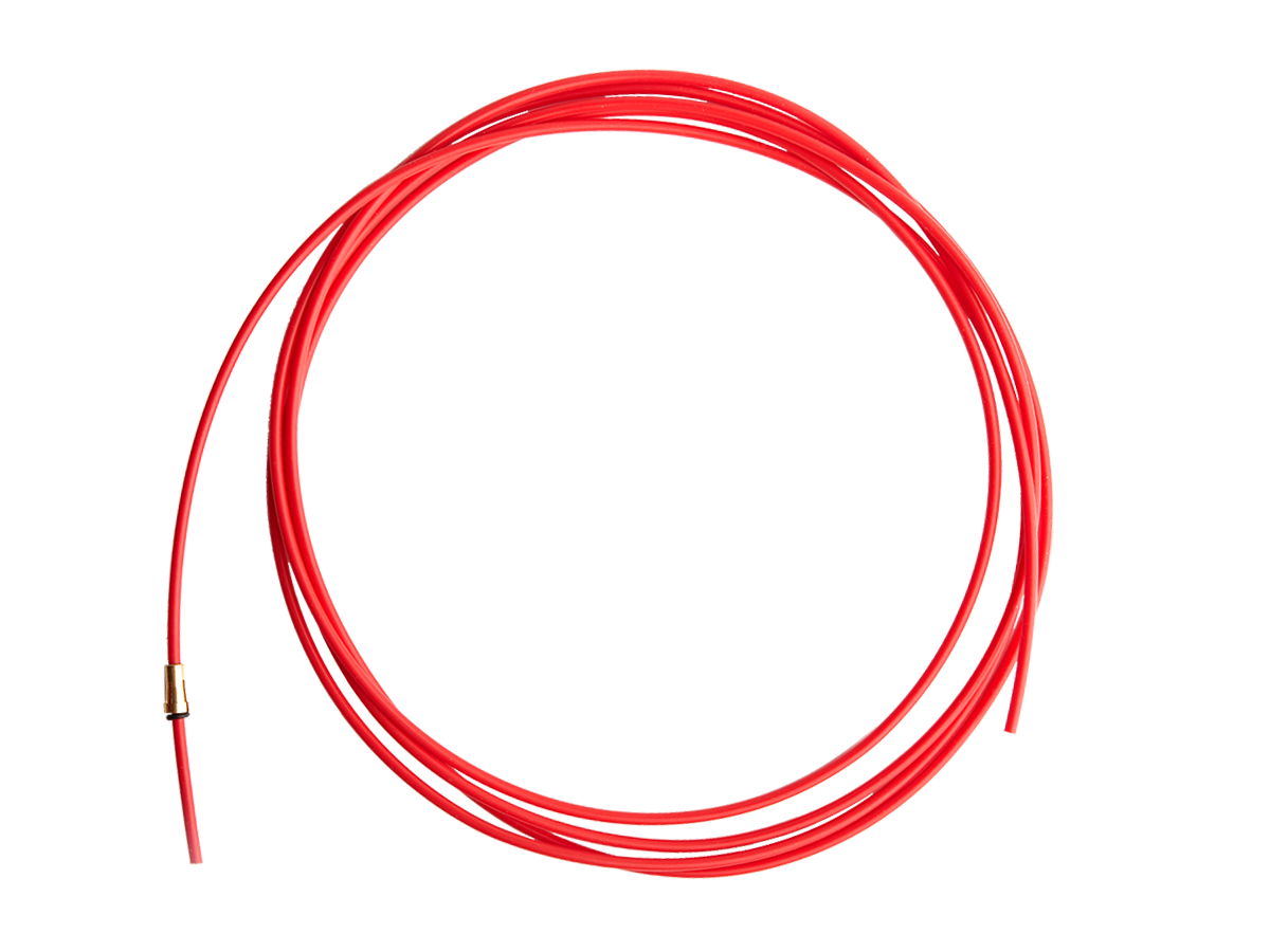 Канал направляющий 5.5 м тефлон красный (1.0-1.2) IIC0167