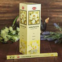 """Благовония """"HEM"""" 8 палочек угольные magnolia, фото 1"""