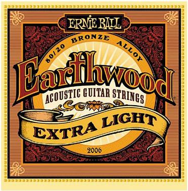 Струны для акустической гитары Ernie Ball 2006