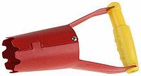 Конус GRINDA посадочный для рассады, из углеродистой стали с деревянной ручкой, 235 мм
