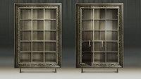 Модуль шкаф для книг. Багет Фоджи с дверцами