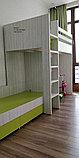 Кровать детская двухъярусная с нишей(домиком) для игр, фото 3