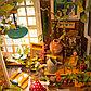 """Интерьерный деревянный конструктор (DIY) """"Дворик Миллеров"""", фото 4"""