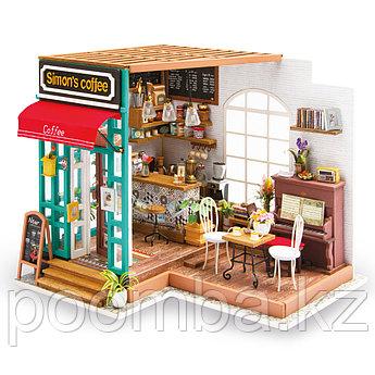 """Интерьерный деревянный конструктор (DIY) """"Кафе Саймона"""""""