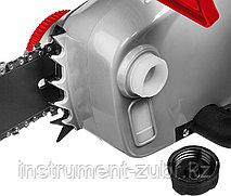 Пила цепная (электропила) продольный двиг-ль, (тормоз цепи), смена цепи без ключа, шина 40 см, 2000 Вт, фото 3