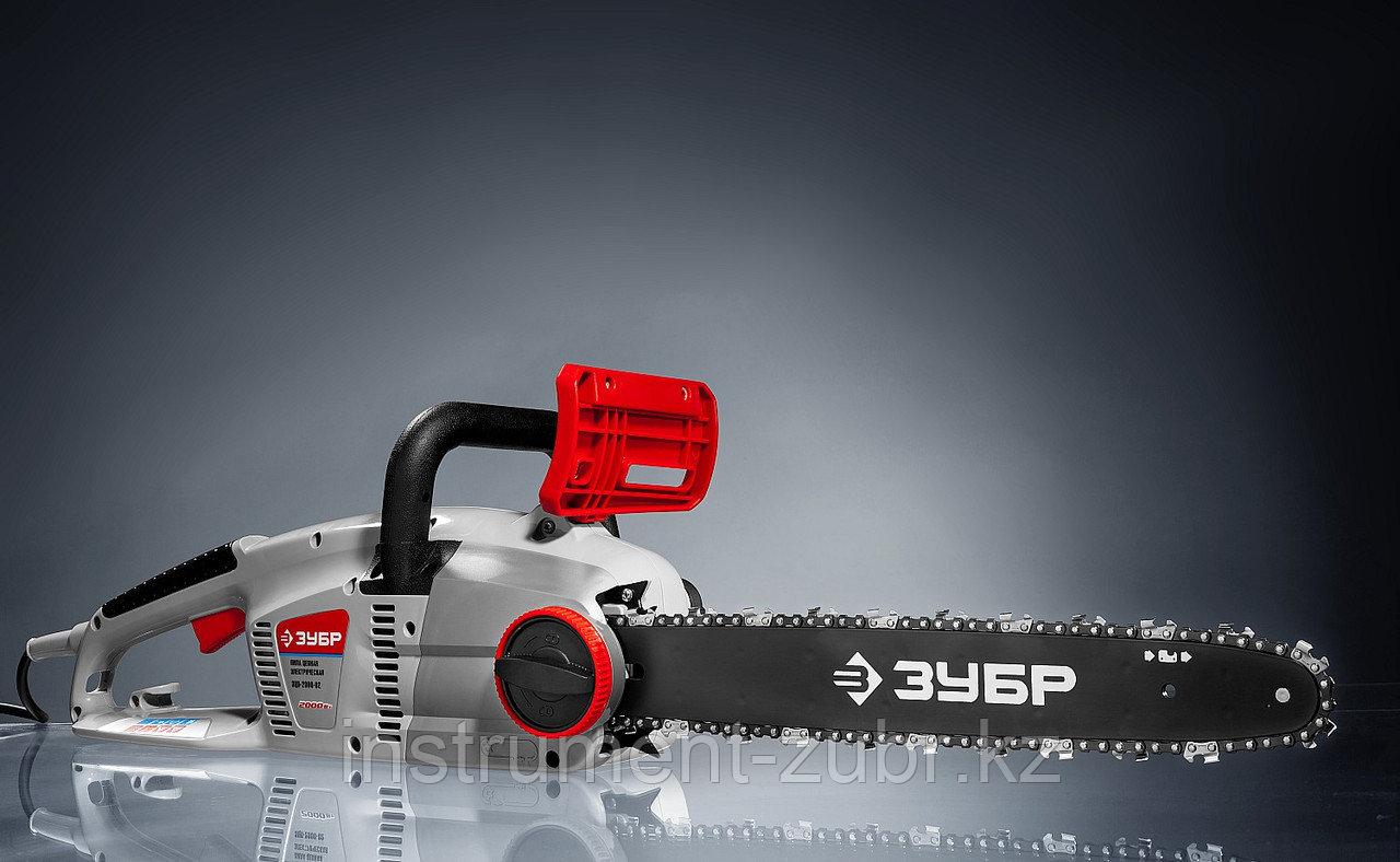 Пила цепная (электропила) продольный двиг-ль, (тормоз цепи), смена цепи без ключа, шина 40 см, 2000 Вт