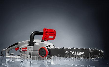 Пила цепная (электропила) продольный двиг-ль, (тормоз цепи), смена цепи без ключа, шина 40 см, 2000 Вт, фото 2
