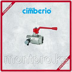Клапан запорный со сливом Cimberio Cim 200 T14