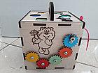 Бизикуб Бизибокс Smart box Ручная работа Развивающая игрушка. Kaspi RED. Рассрочка., фото 2