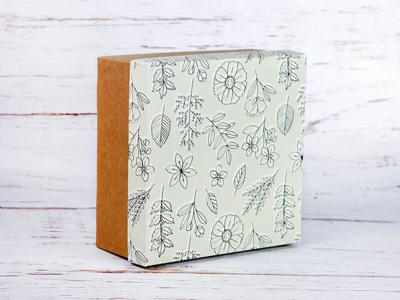 """Подарочная коробка """"Весна"""". Размер: 20*20*9"""