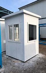 Охранные будки из сэндвич панелей 1,5*1,5*2,6 м