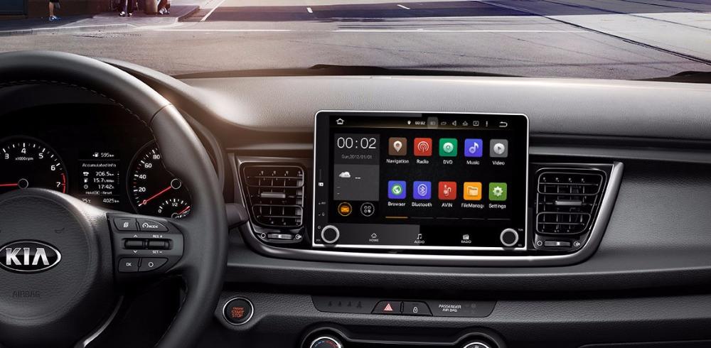 Штатная магнитола Kia Picanto 2017 2018 android