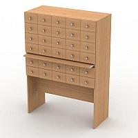 Каталожный шкаф - Мебель для библиотек школьных