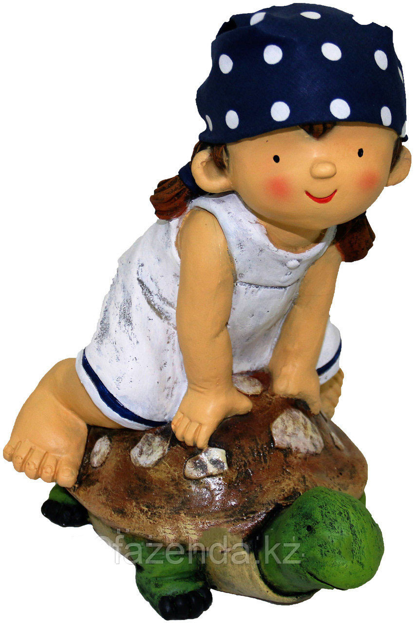 Девочка на черепахе Н-36см