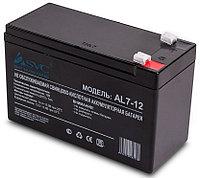 Аккумулятор для систем безопасности SVC AL7-12 (12В, 7Ач), фото 1