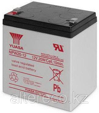 Аккумулятор Yuasa NPW 20-12 (12В, 4.5 Ач), фото 2