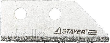 """Лезвие STAYER """"PROFI"""" сменное с карбидным напылением для скребка 33415, 2шт. , фото 2"""