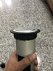Розетка в столешницу выдвижная 3 розетки серый с проводом 1,5 метра GTV, фото 6