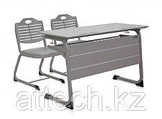 Двойной регулируемый рабочий стол и стул