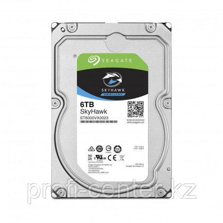 Жесткий диск Seagate HDD 6 TB Skyhawk для регистратора видеонаблюдения