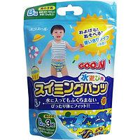 Подгузники-трусики плавательные Goon для  мальчиков, Big (более 12кг), 3шт