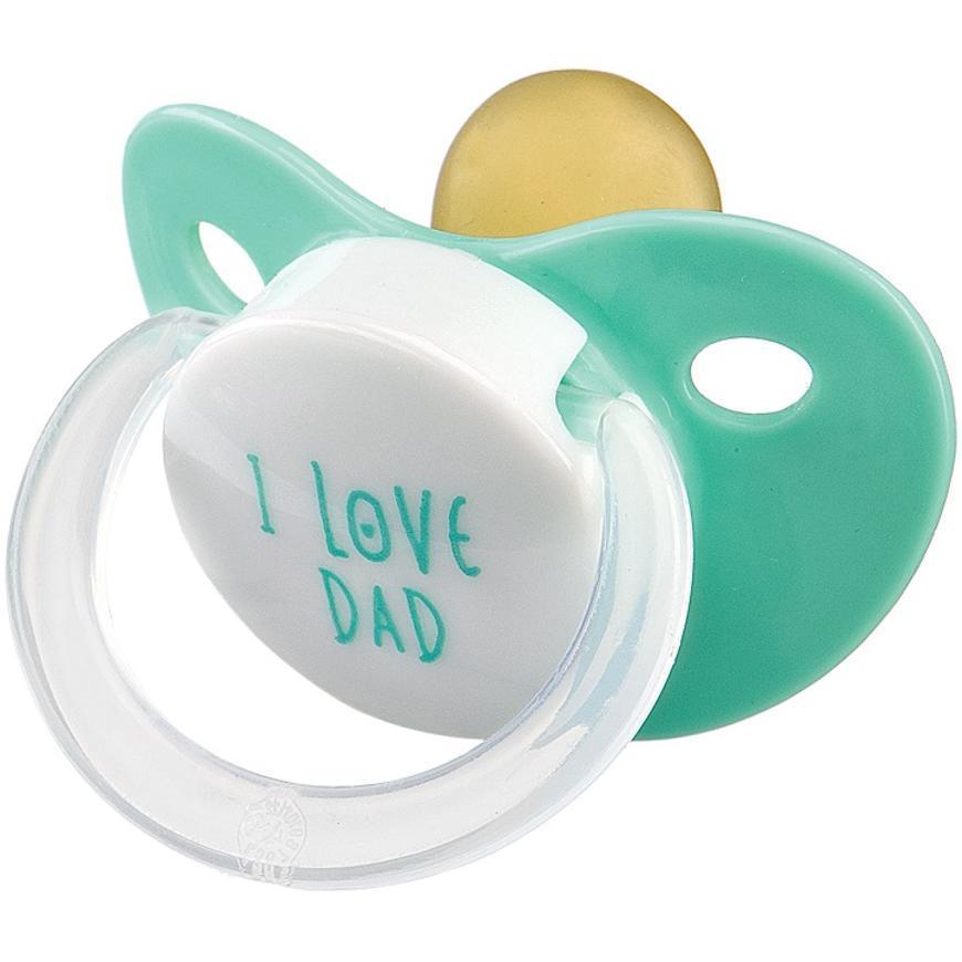 Соска-пустышка Happy Baby Baby латексная Mint