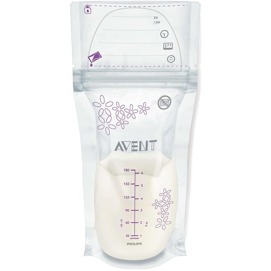 Пакеты Avent для хранения грудного молока  SCF603/25