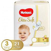 Подгузники Huggies Elite Soft (3) Conv 21 шт.
