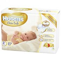 Подгузники Huggies Newborn Elit Soft 2 Conv 27 шт.
