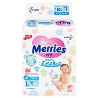 Подгузники Merries L (9-14кг) 18 шт
