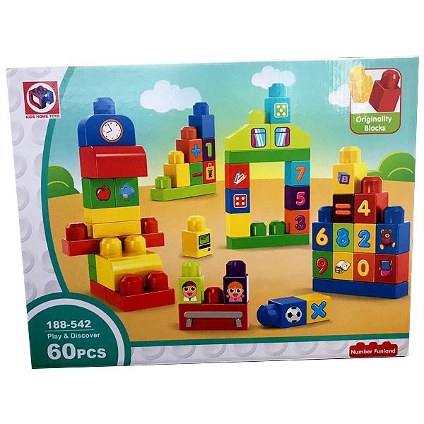 Конструктор Kids Home Toys 60 дет.