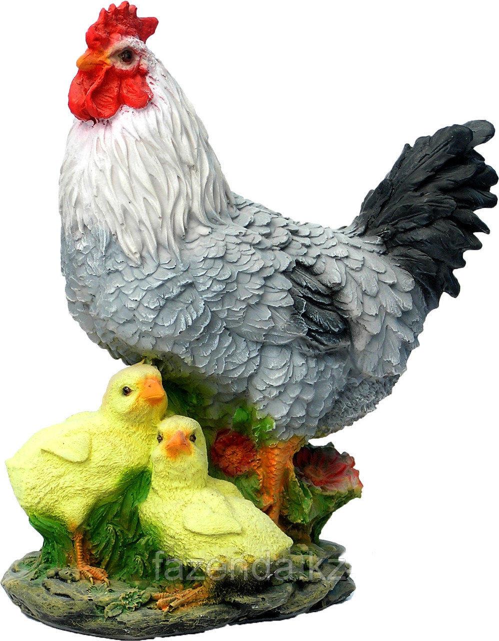 Курица с цыплятами малая H-30см