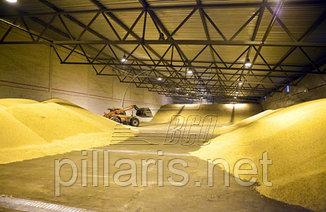 Быстровозводимые ангары Зернохранилища