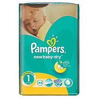 Подгузники Pampers New Baby 1 (2-5кг) 43 шт.