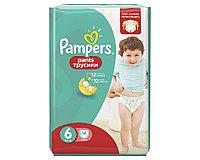 Подгузники-трусики Pampers Pants 6 (16+кг) 14 шт.
