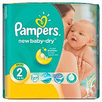 Подгузники Pampers New Baby 2 (3-6кг) 27 шт.