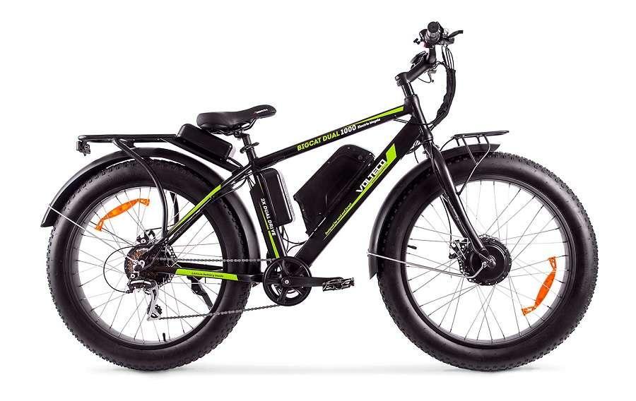 Электровелосипед Wellness Bigcat Dual 1000