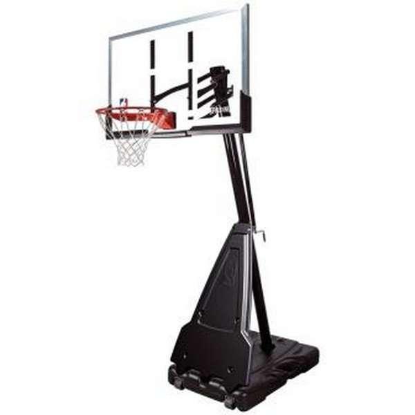 """Мобильная баскетбольная стойка Spalding 54"""" Portable Acrylic акрил 71564CN"""