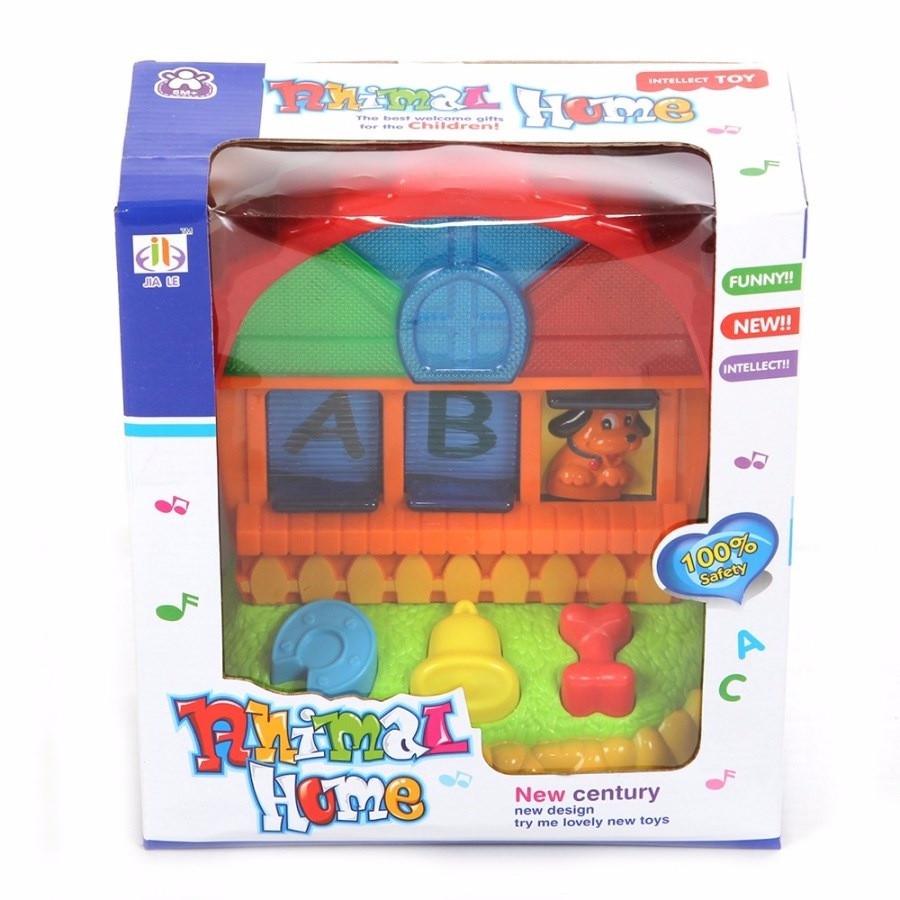 Развивающая игрушка JIA LE TOYS КТО В ДОМИКЕ  ЖИВЕТ?