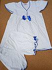 Комплект блузка,панталоны Кт2-01СМ2№2 (74,80,86см)