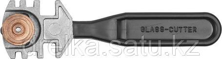 """Стеклорез ЗУБР """"ЭКСПЕРТ"""" роликовый, 3 режущих элемента, с пластмассовой ручкой , фото 2"""