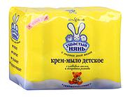 Ушастый Нянь крем-мыло с ромашкой Невская  Косметика 100 гр.
